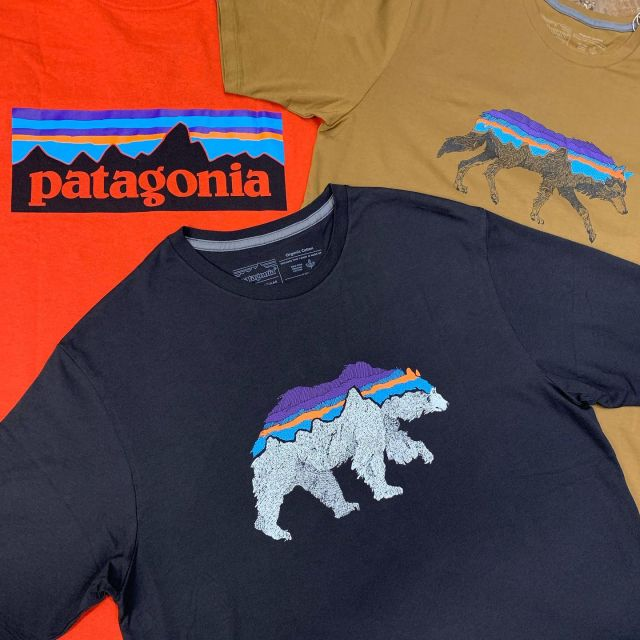 "🇺🇸New arrivals from @patagonia   ""Back for Good"" Organic Cotton bear and wolf T-Shirts, and the Responsibili-Tee® made with 100% recycled materials.  🇮🇹Nuovi arrivi da @patagonia  ""Back for Good"" T-shirt con orso e lupo in cotone organico e la Responsibili-Tee® realizzata con materiali riciclati al 100%.  #newarrivals #spring #cinqueterretrekking  #patagonia #organiccotton #recycled #tshirt #recycledplastic #recycledcotton #fairtrade"