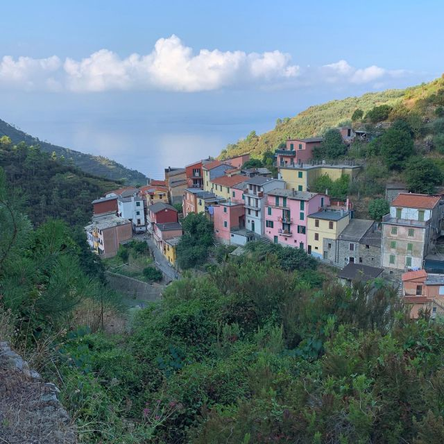 The hamlet of Groppo from the Val di Chiara Trail.  #cinqueterre #historictrail #trailrecovery #volunteer #trails #stairs #montelecrocitrailpark #liguria #italy