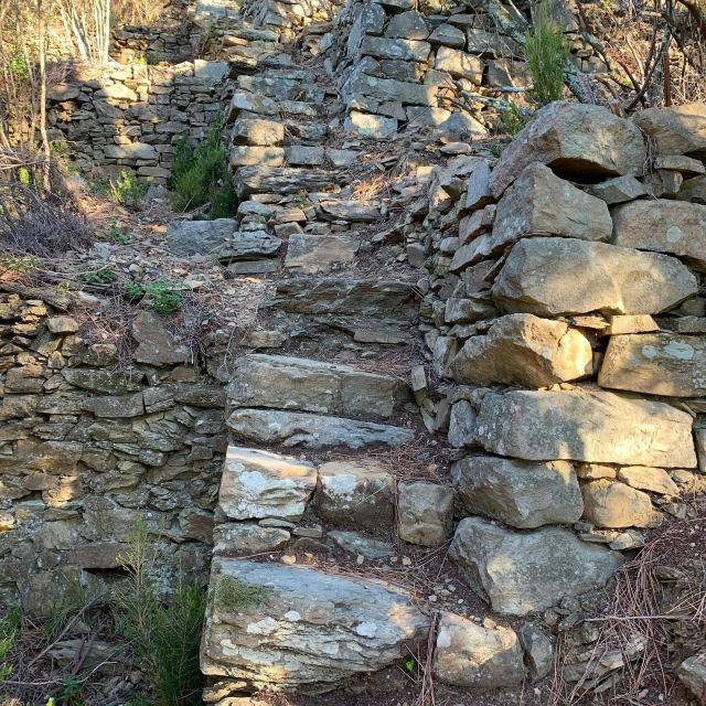 The Cinque Terre dry stone walls are a sight to behold, and the best way to see them is by hiking on the local trails.   #cinqueterre #nationalpark #liguria #italy  #drystonewall #unesco #worldheritage #patrimonio #outdoor #adventure  #cinqueterretrekking